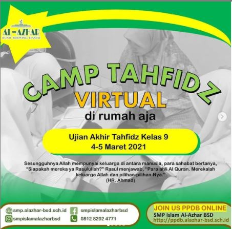 Camp Tahfidz Virtual
